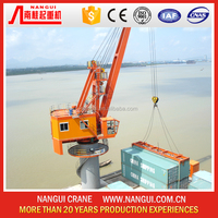 Floating jib crane