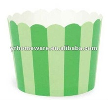 Striped Mini Baking Cups/ Paper Cupcake Liners