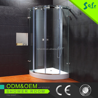 2013 factory temper glass steam shower room