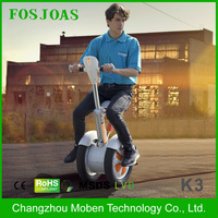 electric bicycle 2016 Fosjoas K3 Airwheel A3 two big wheels unicycle self balancig scooter with Bluetooth App