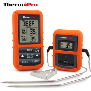 ThermoPro TP20 Wireless Cooking Food Meat Digital Thermometer with Dual Probe for Smoker BBQ Grill Thermometer and Timer