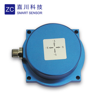 High accuracy MEMS IP 67 round shape digital accelerometer