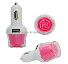 Dual promotional usb car charger for mobile phone charger 2016 new mobile phone accessories products