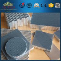 Aluminum honeycomb material core panels