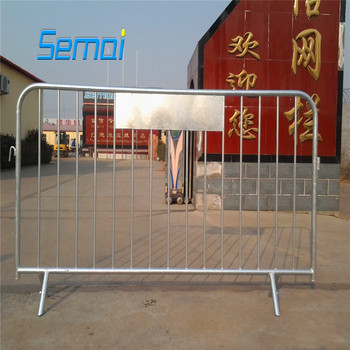 hot-dipped galvanized crowd control barrier (professional manufacturer)