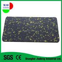 Automotive cushion rubber cushion rubber floor tile