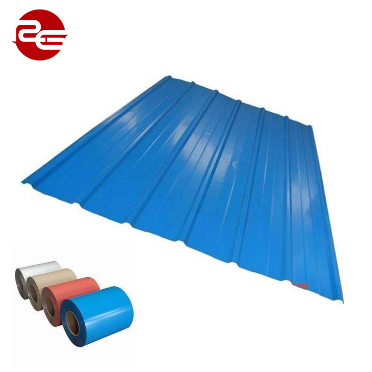New Brand 2018 Color Coated Galvanized Corrugated Steel Sheet For Roof And Wall With Fast Delivery