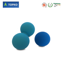 TOPKO Lacrosse Ball Massage Exercise Ball