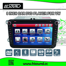 8inch vw golf 4 car multimedia dvd player