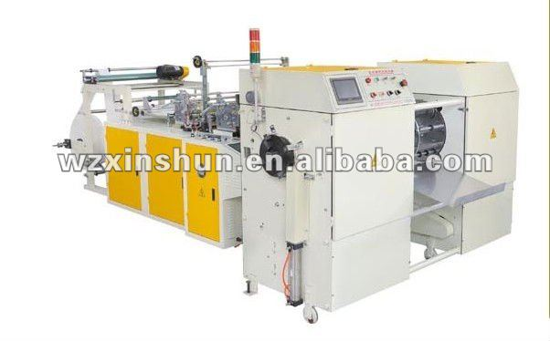 WITHOUT CORE AUTOMATIC ROLLING GARBAGE BAG MAKING MACHINE