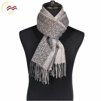The newest autumn winter fashion 100 wool scarf for men