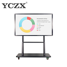 86 inch Cheap finger touch interactive electronic whiteboard writing smart board for school
