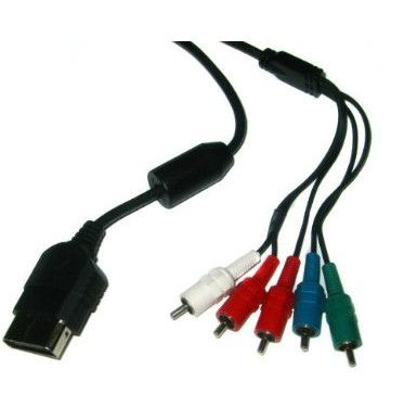 Silver-Plated HDTV High-Definition TV Component Cable for Xbox