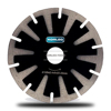 Hot Pressed Segmented Concave Diamond Saw Blade With Protection Teeth For Cutting Stone Vanity