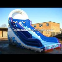 Summer New Design Outdoor Kids Toys Ocean Surf Inflatables Slide