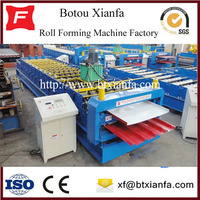 Sandwich panel roofing tile making machine equipment