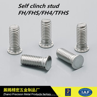 Wholesale Flush-head stainless steel self clinching studs for sheet metal
