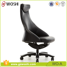 SPACE Seating modern new design luxury leather office chair for boss office High Back PC Computer Desk Swivel Furniture