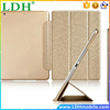 Luxury Stand Leather Case For iPad mini 1 / 2 /3 /4 Retina Silk Slim Clear Transparent Smart Back Cover for Apple iPad Mini 4 3