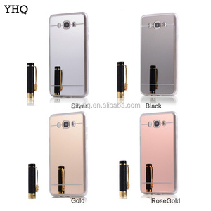 Electroplating ultra-thin shell soft tpu mirror phone case For Samsung Galaxy S5 S6 S7 edge S8 cell phone case with mirror back