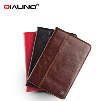 QIALINO hot sale product leather holder case with stand for ipad mini 4