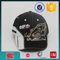 custom design 100% cotton cap With 3d Embroidery Logo