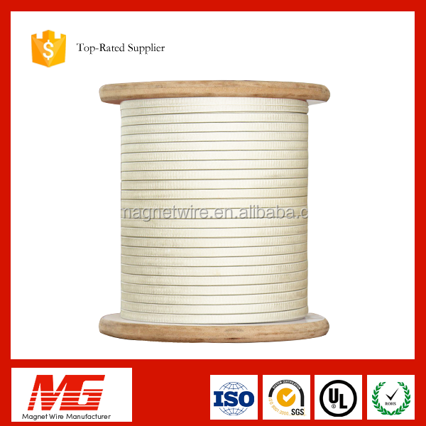 class h fiberglass rectangle covered winding wire