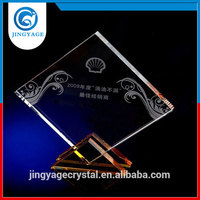 Trade assurance fashional design cheap crystal trophy awards