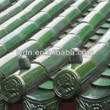 glazed roof tile ancient building material asian roof