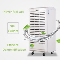 Adjustable Humidistat Portable Air Dehumidifier, Home Dehumidifier