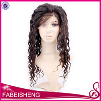 FBS holesale price 5a quality glueless loose wave wig full silk cap lace wig human hair lace front wig