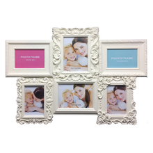 Promotional personalized beautiful six picture frame love wallpaper Collage family tree photo frame picture frame