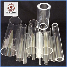 Clear Transparent Clear Hard Plastic PVC Tubes