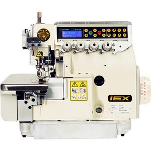 4 thread ultra high speed direct drive overlock machine with built-in control box for medium-heavy material