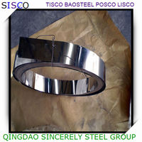 stainless steel coil 2B BA 8K mirror surface price list, cold rolled stainless steel stirps