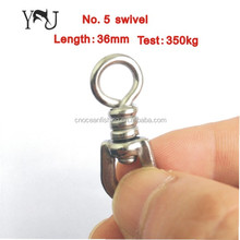 BL swivel of 304 stainless steel for longline fishing tuna (NO.5single)