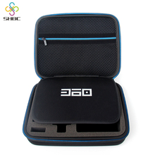 SHBC Travel Mobile Phone, USB, Powder Bank,Cable Organizer EVA Case
