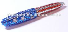 Fashion Colorful USA Rhinestone Bling Pen
