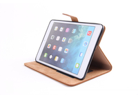 New trending products luxury flip leather case for ipad mini 1/2/3