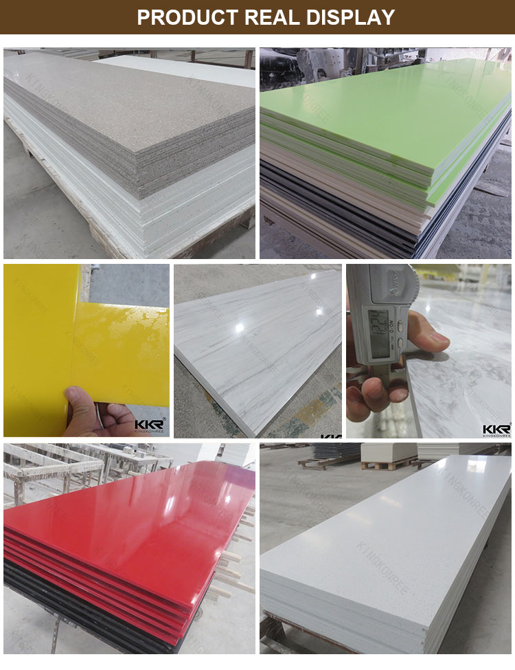 Factory Price Artificial Stone Acrylic Solid Surface Sheets