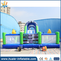 Huale Hot sale good quality inflatable fun city , inflatable playground on sale