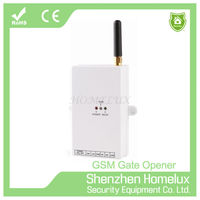 Gate opener 1 channel gsm remote control switch operated with sms/ bluetooth