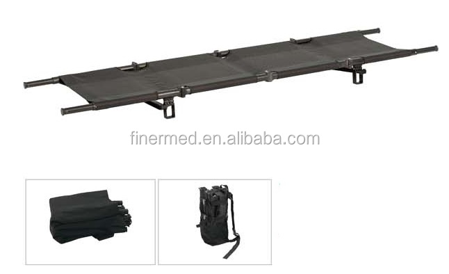 Mesh surface Fold Arm Military stretcher