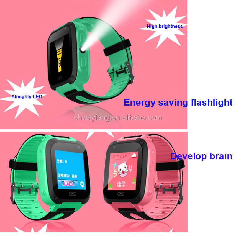 2017 Theme/Stopwatch/Self dialing Smart Watch Phone Children Kids GPRS Track Wristwatch SOS Call For Android IOS