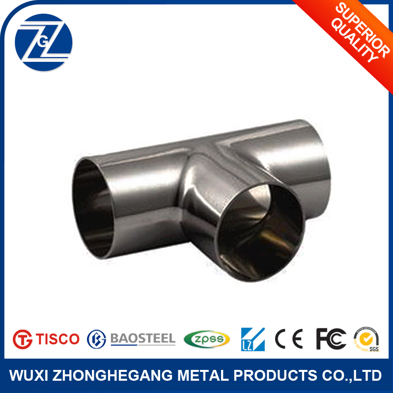 Stainless Steel Tees od Schdule 40 Steel Pipe Fittings in Jiangsu