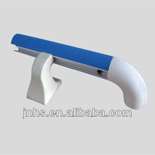 Plastic PVC Aluminum Metal Wall Handrails for indoor stairs