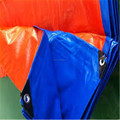 Blue Ready Made PE Tarpaulin with PP Rope and Aluminum Eyelets