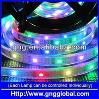 full color changing IP68 led strip with IC Tm1812