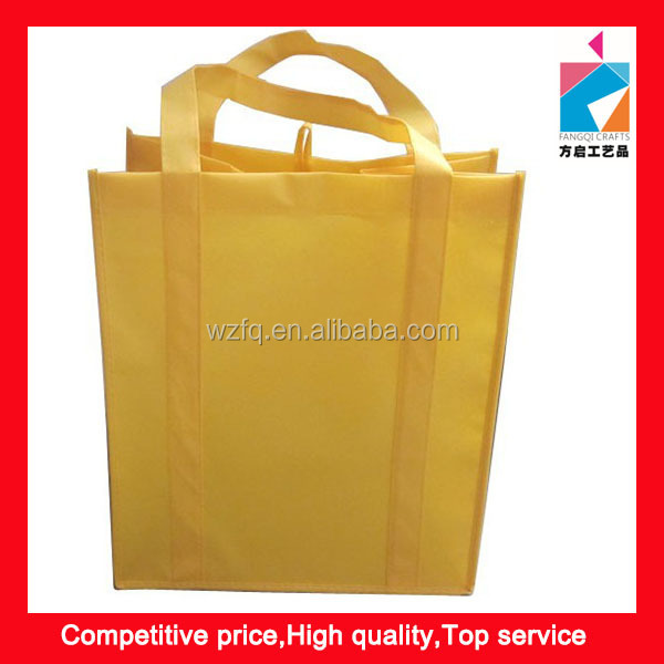 Tote Non Woven Shopping Travel Promotional Reusable Grocery Bag
