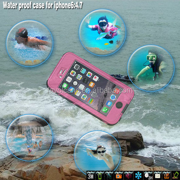 New Waterproof Shockproof Dirtproof Case Cover For Iphone 6 6S